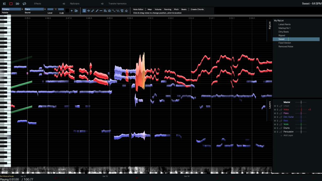 atomic audio editor ui