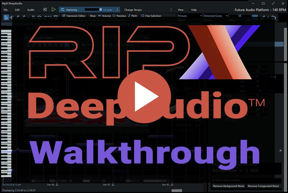 DeepAudio Audio Manipulation